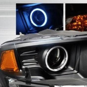 DODGE 09-10 DODGE RAM PROJECTOR HEADLIGHTS /HEAD LAMPS/ LIGHTS performance conversion