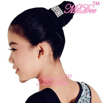 Fashion Women Dance Costumes Accessories Hair Bands Ponytail Holder Ribbon Headband Barrette Elastics For Hair