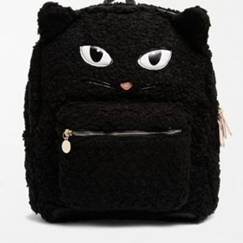 ALDO Manaus Faux Fur Cat Backpack at asos.com