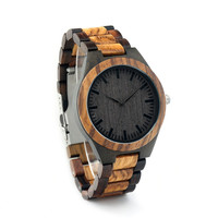Zabra Wooden Quartz Watch