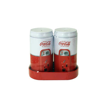 Coke Collection Vintage Style Coca-Cola Salt & Pepper Shakers Set