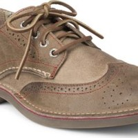 Sperry Top-Sider Cloud Logo Harbor Leather Wingtip Oxford BrownLeather, Size 13M  Men's Shoes