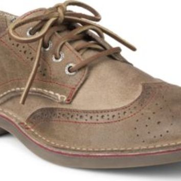 Sperry Top-Sider Cloud Logo Harbor Leather Wingtip Oxford BrownLeather, Size 8M  Men's Shoes