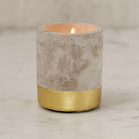 Paddywax Amber & Smoke Small Concrete Candle - Urban Outfitters