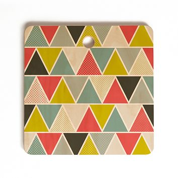 Heather Dutton Triangulum Cutting Board Square
