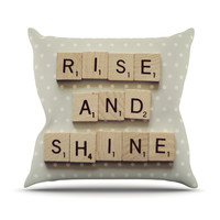 "Cristina Mitchell ""Rise and Shine"" Throw Pillow"