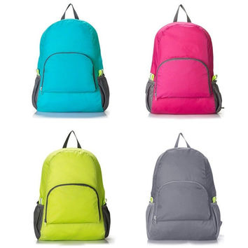 4 Colors New Arrival Foldable Laptop School Book Camera Travel Backpacks Purse Daypacks Rucksacks Bookbags Bags BS88