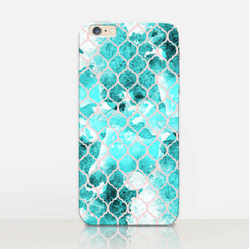 Mermaid Phone Case For - iPhone 6 Case - iPhone 5 Case - iPhone 4 Case - Samsung S4 Case - iPhone 5C - Matte Case - Tough Case