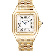 Cartier Panthere Gold Watch, 21mm by Cartier at Gilt