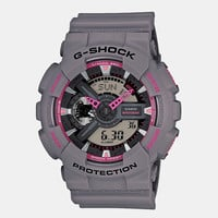 Casio G-Shock Ga 110ts 8a4er Watch - Grey/pink at Urban Industry