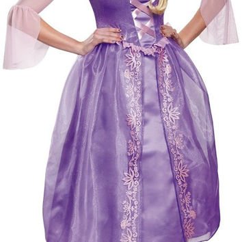 disney princess rapunzel deluxe adult costume - small (4-6)