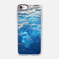 blue water iPhone 7 Carcasa by littlesilversparks | Casetify
