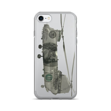 Chinook Helicopter $100 Dollar Bill iPhone 7/7 Plus Case