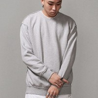 Mens Oversized Reverse Seam Sweatshirt at Fabrixquare