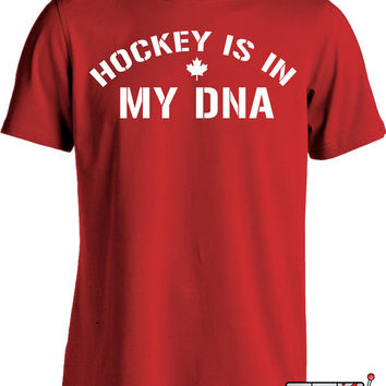 Funny Hockey Shirt Gifts For Sports Fan Canada Hockey Joke Mens Tee MD-30