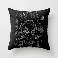 Abraham Lincoln Throw Pillow by Maioriz Home