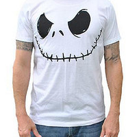 Nightmare Before Christmas Jack Face Tee - Spencer's