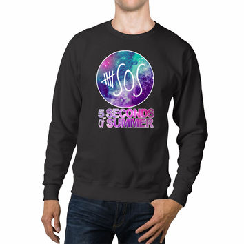 5 Seconds Of Summer Galaxy Unisex Sweaters - 54R Sweater