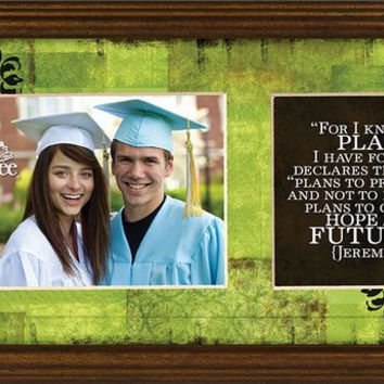 For I Know The Plans Photo Frame