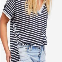 Free People Take Me Stripe Tee | Nordstrom