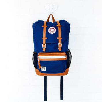 Navy Varsity Backpack