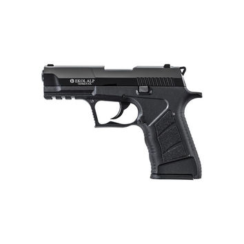 EKOL ALP Black Finish 9mm Sub-Compact V92F Blank Firing Replica Gun
