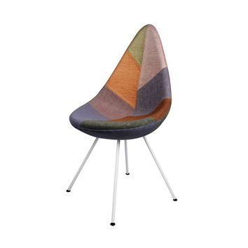 Drop Chair - Upholstered - Patchwork A - Reproduction | GFURN