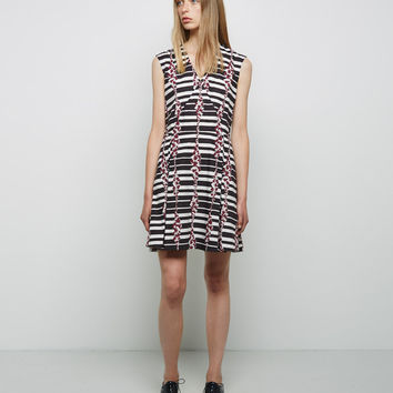 Deep V Dress by Suno