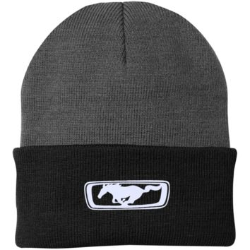 Mustang CP90 Port Authority Knit Cap