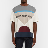 Valentino - On My Mind Again Printed Cotton-Jersey T-Shirt