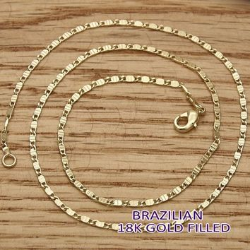 Gold Tone Women Mariner Basic Necklace, by Folks Jewelry