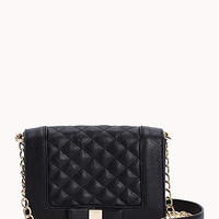 Charming Quilted Crossbody