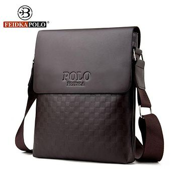 Famous Bag Men Messenger Bags Men's Cross body PU Leather Bag Satchel Man Satchels Men's Travel Shoulder Bags