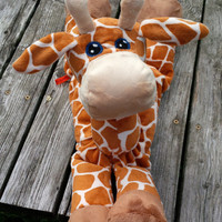 Giraffe STUFFED ANIMAL Pattern - Digital Download