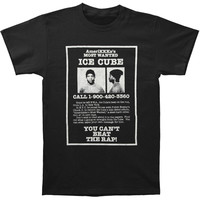 Ice Cube Men's  AmeriKKKa's Most Wanted T-shirt Black