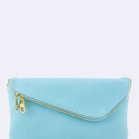 Envelope Clutch - light blue