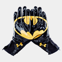 Men's Under Armour Alter Ego Batman Highlight Football Gloves | 1249943 | Under Armour US