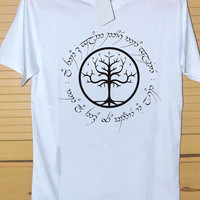 The Lord of The Ring Signature of the Ring DTG Printed shirt for T shirt Mens and T shirt Woman Size S, M, L, XL and XXL