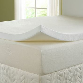 "Nature's 3"" Sleep Visco Memory Foam Topper with 300TC Cover"