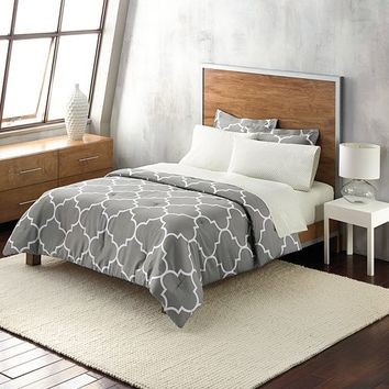 Apt. 9® Trellis Gray Bedding Collection