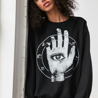 Magic Hand Crew-Neck Sweatshirt | Urban Outfitters