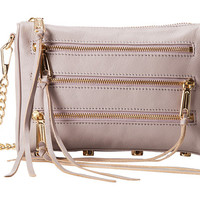 Rebecca Minkoff Mini 5-Zip Convertible Crossbody Light Turquoise - Zappos.com Free Shipping BOTH Ways
