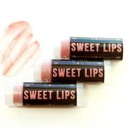 SWEET LIPS / All Natural Tinted Lip Balm -- Choose Your Flavor / Pink Champagne Lip Tint / Gifts for Her