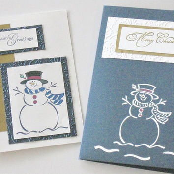 Christmas Card, Bath Salt Card Insert, Gift Card Package with Bath Soak, One of a Kind