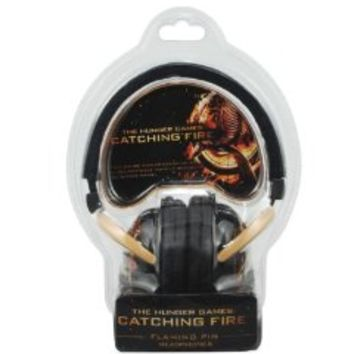 NECA The Hunger Games: Catching Fire Over The Ear Flaming Pin Headphones