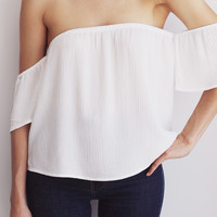 Luciana Shoulder Top - More Colors