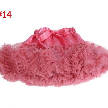 19 NEW Colors Stunning Newborn Tutu Petticoat Skirt 3-12 months