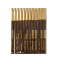 LIP LINER PENCIL CHOCOLATE SHADE LF102 - 12 PIECES