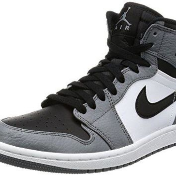 Nike Men's Air Jordan 1 Retro High Basketball Shoe  jordans black and white