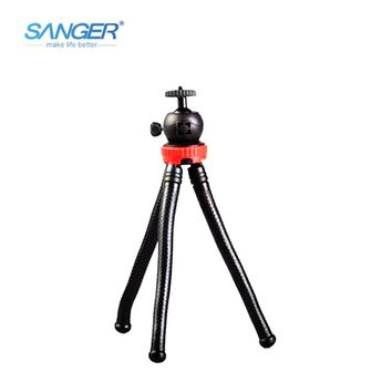 SANGER Waterproof Octopus Tripod Portable Adjustable Flexible Phone Stand Holder Mount for iPhone Gopro Xiaomi Yi Action Camera